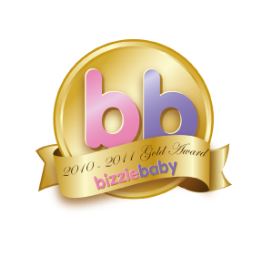 Bizziebaby gold award