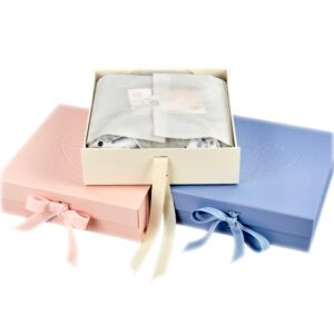 pink cream and blue morrck gift boxes
