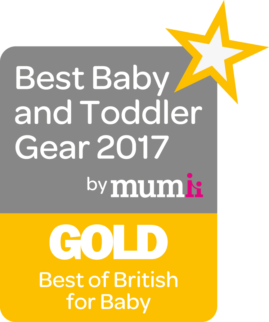 Gold Best of British for Baby logo