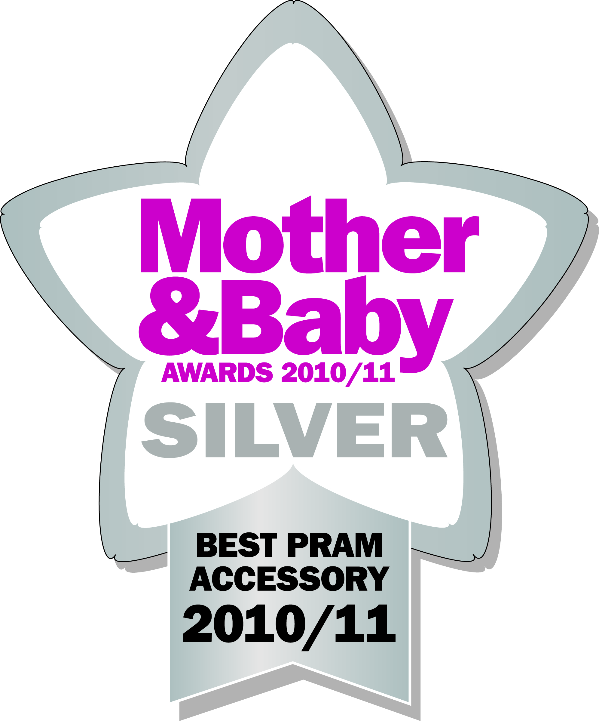 Mother and Baby Pram Accessory Silver award 2010/11