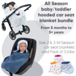 size 2 and 3 morrck baby hooded car seat blanket offer