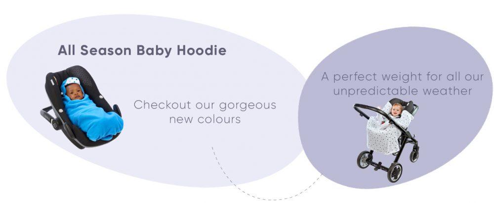 All season baby hoodie
