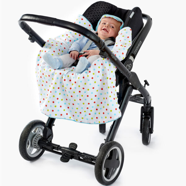 Aqua - Bright Spot Pushchair