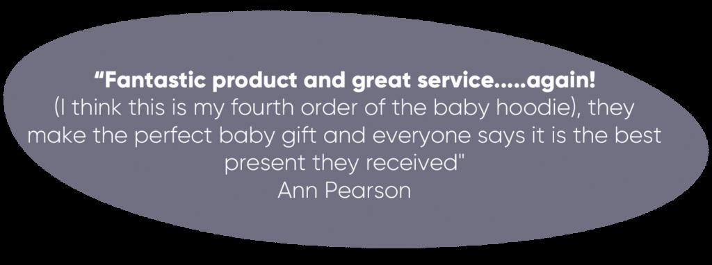 gift buyer customer testimonial