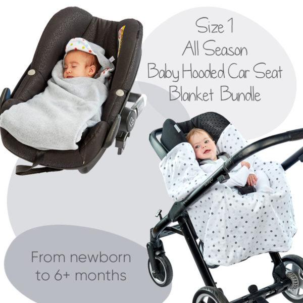 Bundle offer image size 1 morrck all season car seat hooded blanket