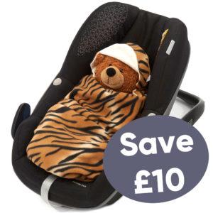 morrck baby hoodie car seat blanket on sale